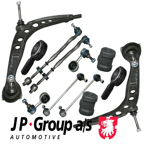 JP HQ Front Kit Control Arm Suspension Wishbone 3 BMW E36 Touring 12 pieces