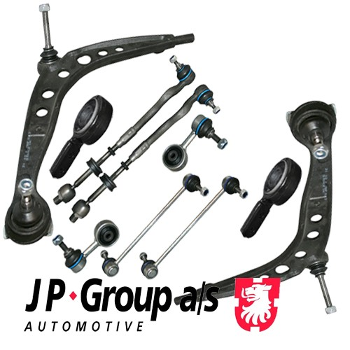 JP HQ Front Kit Control Arm Suspension Wishbone 3 BMW E36 Convertible  10 pieces