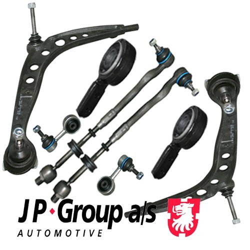 JP HQ Front Kit Control Arm Suspension Wishbone BMW Z3, Z3 Coupe  8 pieces